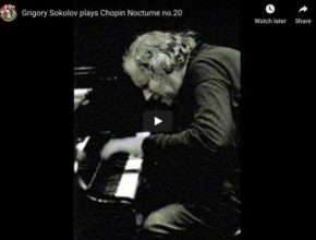 Chopin - Nocturne No 20 in C sharp minor - Sokolov, Piano