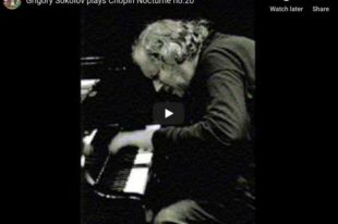 Chopin - Nocturne No 20 in C-sharp Minor - Sokolov, Piano