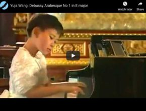 Debussy - Arabesque No 1 in E Major - Wang, Piano