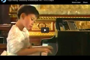 Debussy - Arabesque No. 1 - Wang, Piano