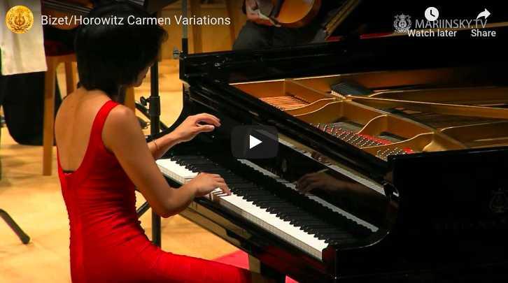 Horowitz – Carmen Variations - Wang, Piano