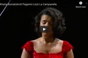 Liszt – La Campanella – Buniatishvili, Piano