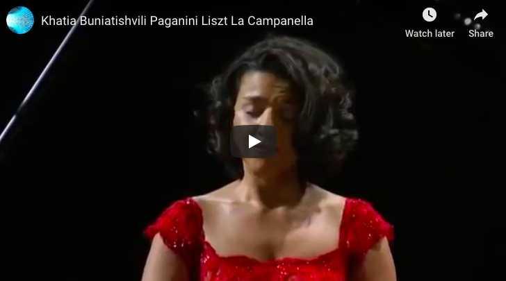 Liszt - La Campanella - Buniatishvili, Piano
