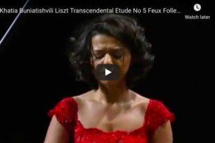 Liszt - Feux Follets - Buniatishvili, Piano