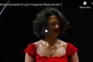 Liszt – Hungarian Rhapsody No. 2 – Buniatishvili, Piano