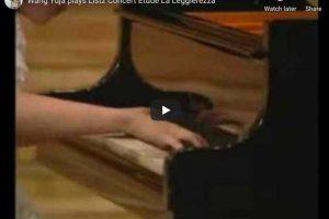 Liszt – La Leggierezza – Yuja Wang, Piano