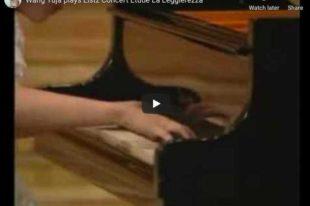 Liszt - La Leggierezza - Wang, Piano