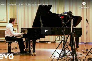 Liszt – Mazeppa, Transcendental Etude No 4 – Trifonov, Piano