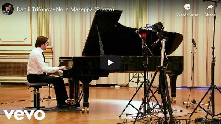Liszt - Mazeppa, Transcendantal Étude No 5 - Trifonov, Piano