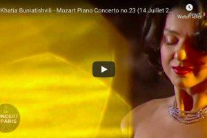 Mozart – Concerto No 23 (Adagio) – Buniatishvili, Piano