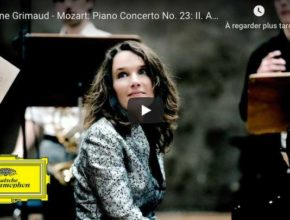 Mozart - Piano Concerto No 23 in A major (Adagio) - Grimaud, Piano
