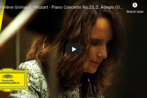 Mozart – Piano Concerto No 23 in A major (Adagio) – Grimaud, Piano