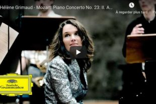 Mozart - Piano Concerto No. 23 (Adagio) - Hélène Grimaud