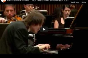 Mozart - Piano Concerto No. 23 - Daniil Trifonov