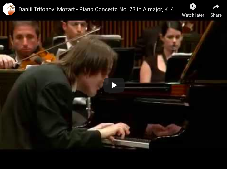Mozart - Piano Concerto No 23 in A major - Trifonov, Biron