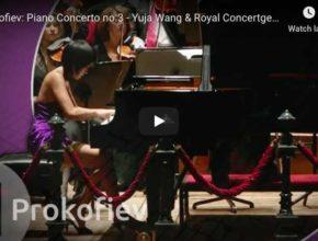 Prokofiev - Piano Concerto No 3 in C Major - Wang, Piano