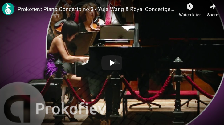 Prokofiev - Piano Concerto No 3 in C Major - Wang, Piano