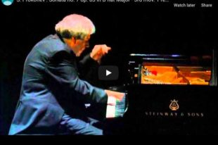 Prokofiev - Sonata No 7, 3rd movement - Sokolov, Piano