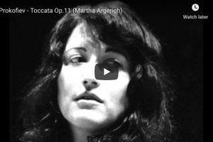 Prokofiev – Toccata – Argerich, Piano