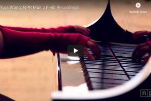 Prokofiev – Toccata in D Minor – Yuja Wang, Piano