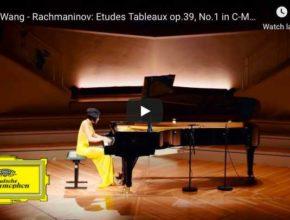 Rachmaninoff - Etude Tableau No 1 in C Minor, Op 39 - Wang, Piano