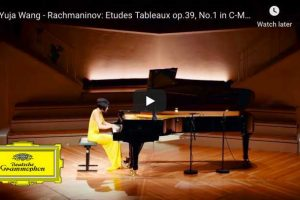 Rachmaninoff – Etude Tableau No. 1 – Yuja Wang, Piano