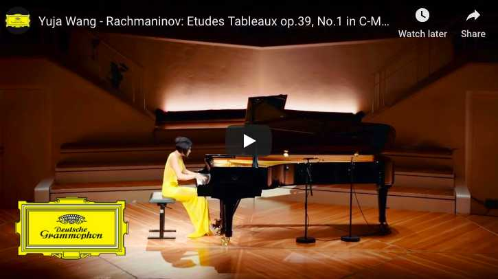 Rachmaninoff - Etude Tableau No 1 in C Minor, Op 39 - Wang, Piano