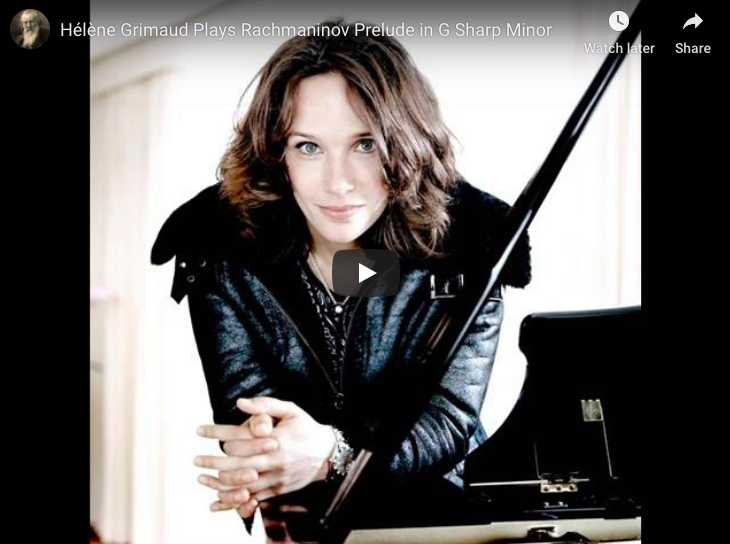 Rachmaninoff - Prelude No 12 in G-sharp minor - Grimaud, Piano