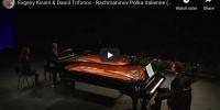 Rachmaninov – Polka Italienne for 2 Pianos – Kissin, Trifonov