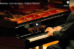 Rameau – Les Sauvages – Sokolov, Piano
