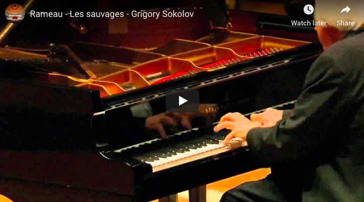 Rameau - Les sauvages - Sokolov, Piano