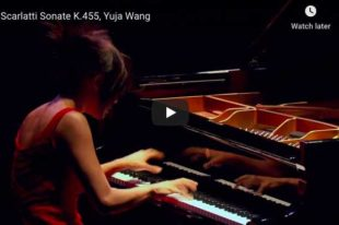 Scarlatti - Sonata K. 455 - Wang, Piano