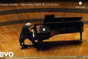 Schubert – Impromptu Op 90 No 2 in E-Flat Major – Sokolov, Piano