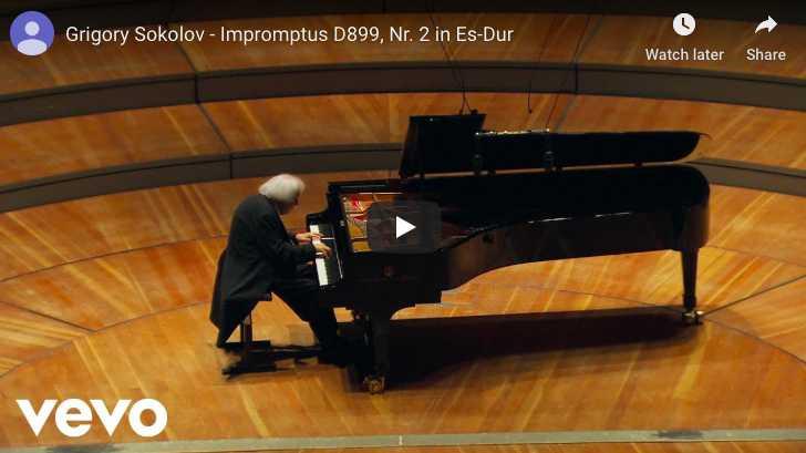Schubert - Impromptu Op 90 No 2 in E-Flat Major - Sokolov, Piano