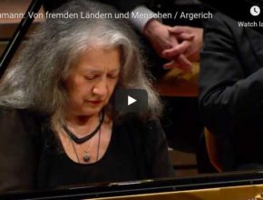 Schumann - Kinderszenen, Of Foreing Lands and People - Martha Argerich, Piano