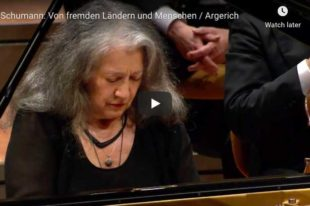 Schumann - Of Foreing Lands and People - Argerich, Piano