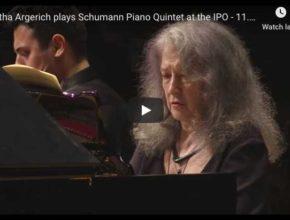 Schumann - Piano Quintet - Argerich, Piano, Israel Philharmonic Orchestra