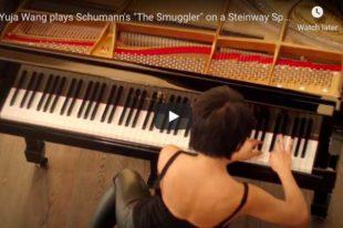 Schumann-Tausig – The Smuggler (Der Kontrabandiste) - Wang, Piano