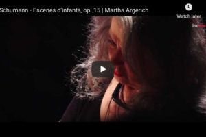 Schumann – Dreaming – Argerich, Piano