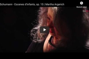 Schumann - Träumerei (Kinderszenen) - Argerich, Piano
