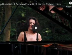 Scriabin - Etude in C-sharp minor, Op. 2 No 1 - Buniatishvili, Piano