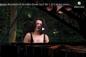 Scriabin – Etude in C-Sharp Minor – Buniatishvili, Piano