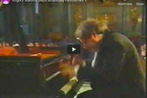 Stravinsky – Trois Mouvements de Petrouchka – Sokolov, Piano