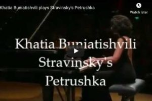 Stravinsky – Trois Mouvements de Petrushka – Buniatishvili, Piano