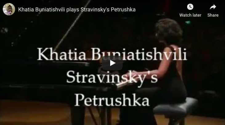 Stravinsky - Trois Mouvements de Petrouchka - Buniatishvili, Piano