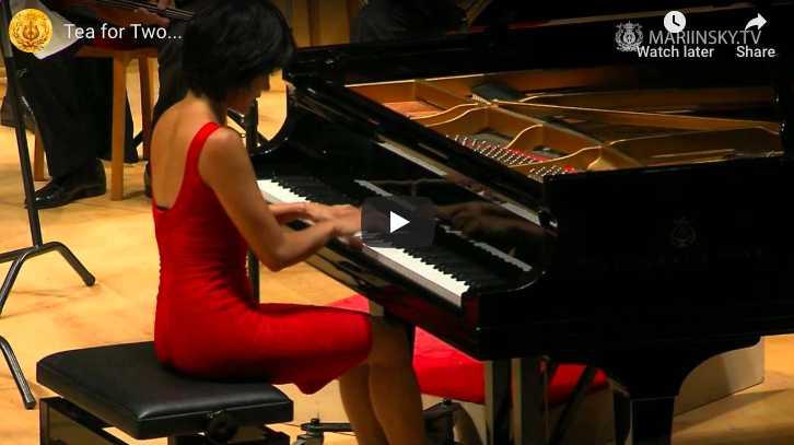 Youmans-Tatum - Tea for Two - Wang, Piano