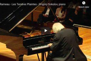 Rameau – Les Tendres Plaintes – Sokolov, Piano