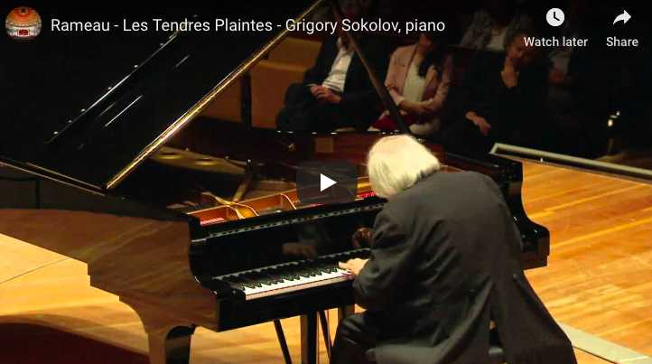Rameau - Les Tendres Plaintes - Sokolov, Piano