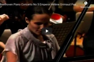 Beethoven - Emperor Concerto No 5 in E-Flat Major - Grimaud, Piano