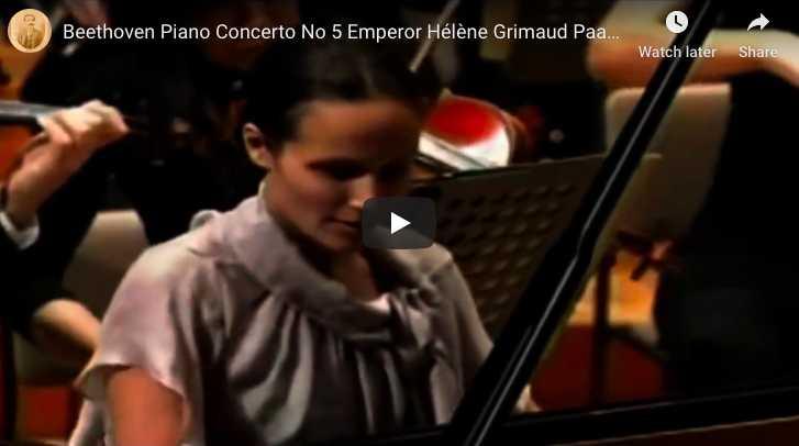 Beethoven - Emperor Concerto (No 5) in G Major - Grimaud, Piano